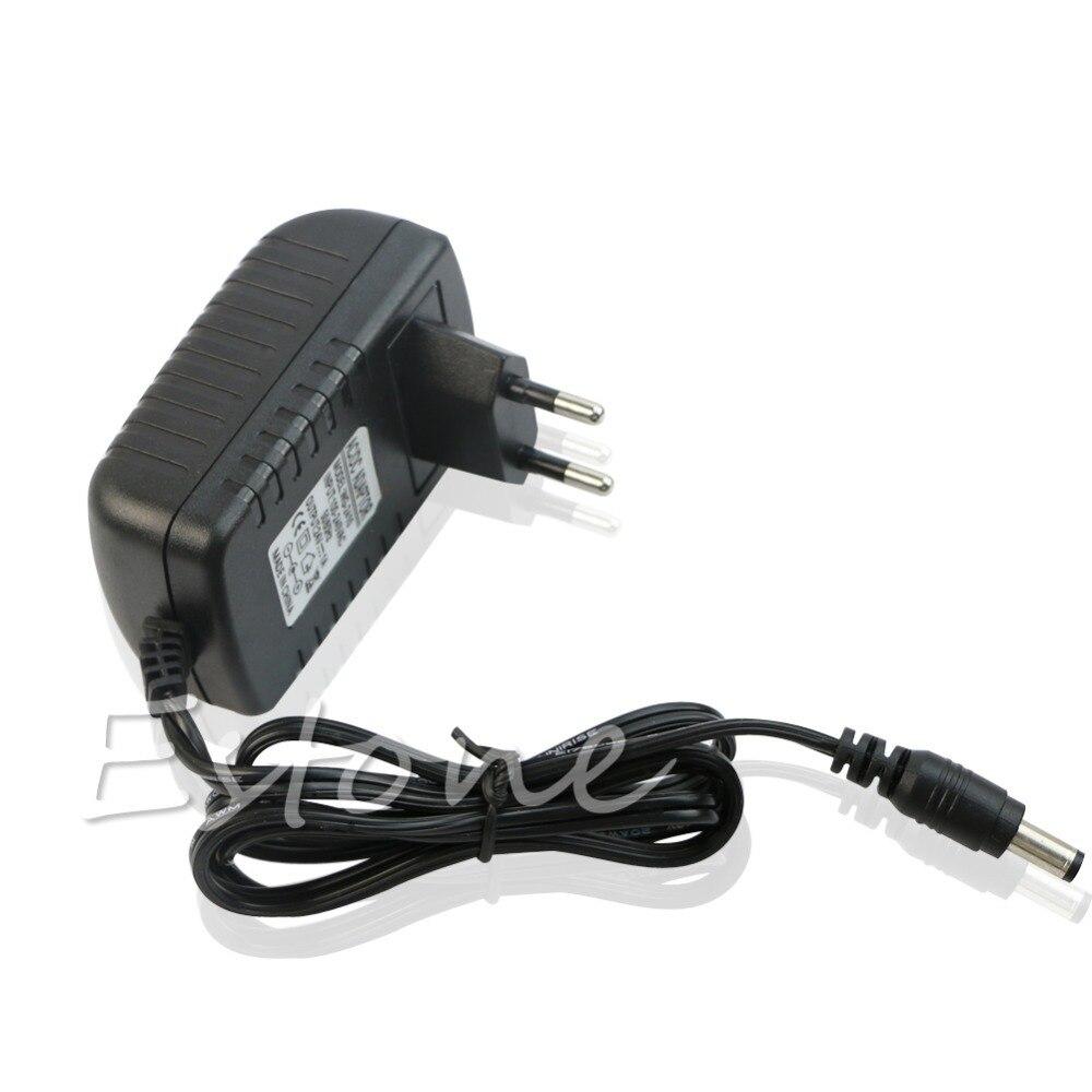 EU Plug AC 110V 220V Converter DC 24V 1A Server Power Supply Adapter D07