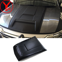 bonnet guards cover For MITSUBISHI PAJERO SPORT L200 Triton Parts 2016 2017scoops hood accessories For PAJERO SPORT 2016 YCSUNZ