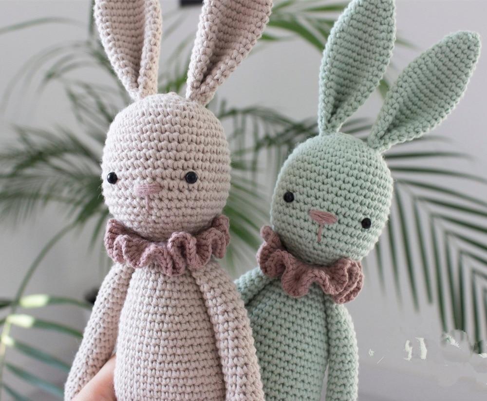Gehaakte speelgoed gehaakte amigurumi pop schattige bunny model nummer TS041327 1