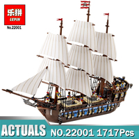 NEW LEPIN Pirate Ship Imperial Warships Model Building Kits Block Briks Toys Children Gift 1717pcs Compatible