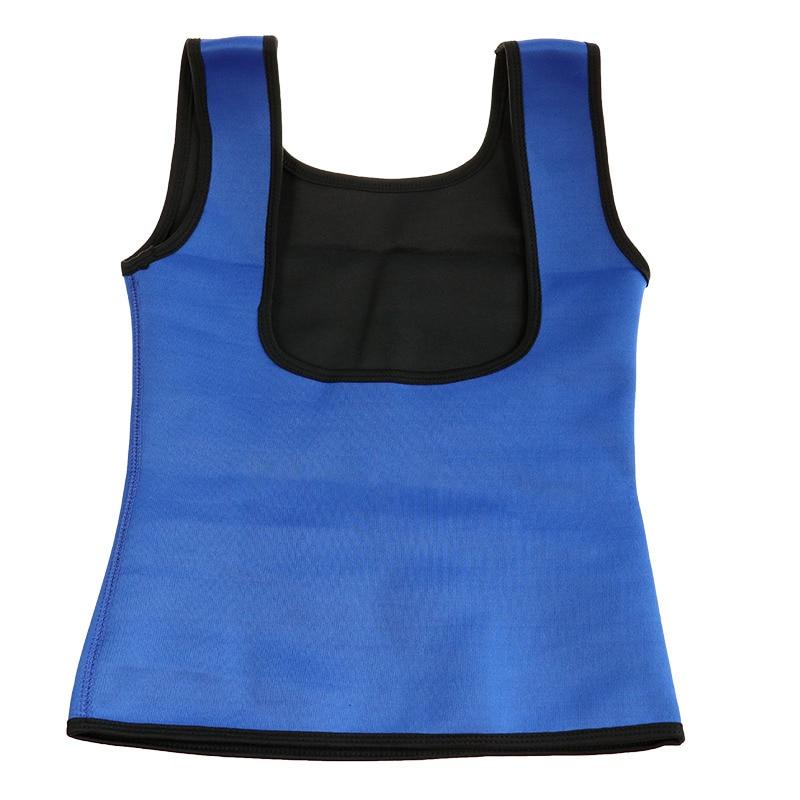 Plus Size Neoprene Sweat Sauna Hot Body Shapers Vest Waist Trainer Slimming Vest Shapewear Weight Loss Waist Shaper Corset Hot 4