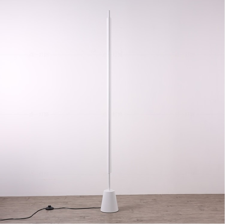 Magic Wand Metal Floor Lamp white