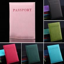 Новый Одежда высшего качества Мужская Обложка для паспорта 6 цветов Универсальный заграничный паспорт владельца билета Обложка на паспорт ...