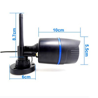 720P Wifi IP Wireless Camera Support Motion Detection CCTV Outdoor Onvif 3.6mm Waterproof Night Vision Home P2P Cameras