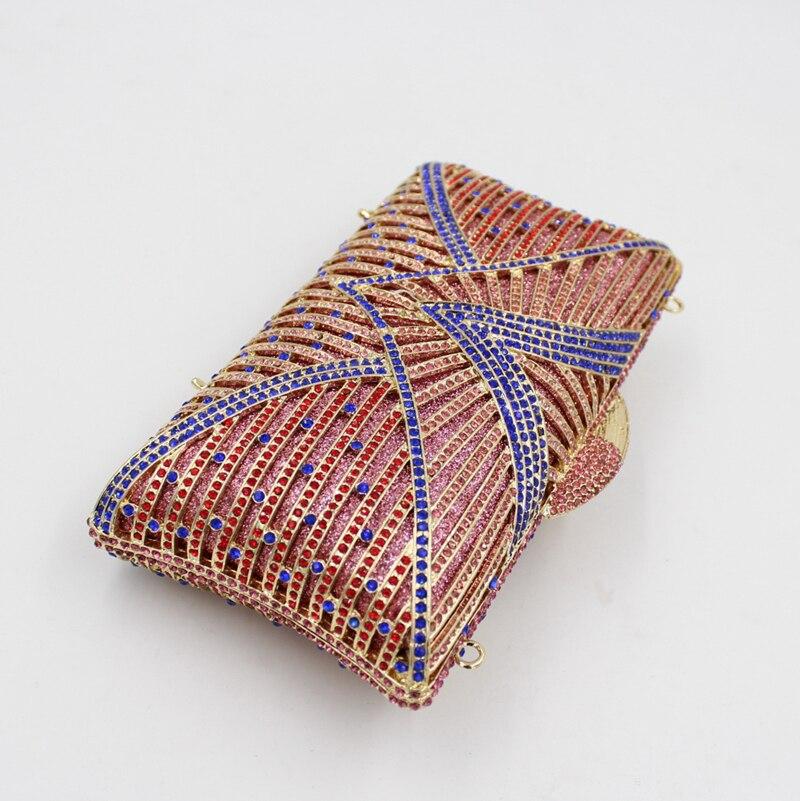 bags Soirée Sangle Bleu Broderie À D'embrayage e0099 bags Smyzh Patterns Bags Avec Diamants Main Cristal bags Champagne De Taille Gros Sac Petite Rq6SwxP