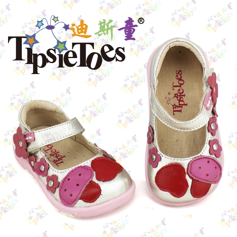 TipsieToes Brand Mushroom Floral Genuine Leather Kids Children Soft Sneakers Shoes For Girls 2016 Autumn Spring Fashion A22001