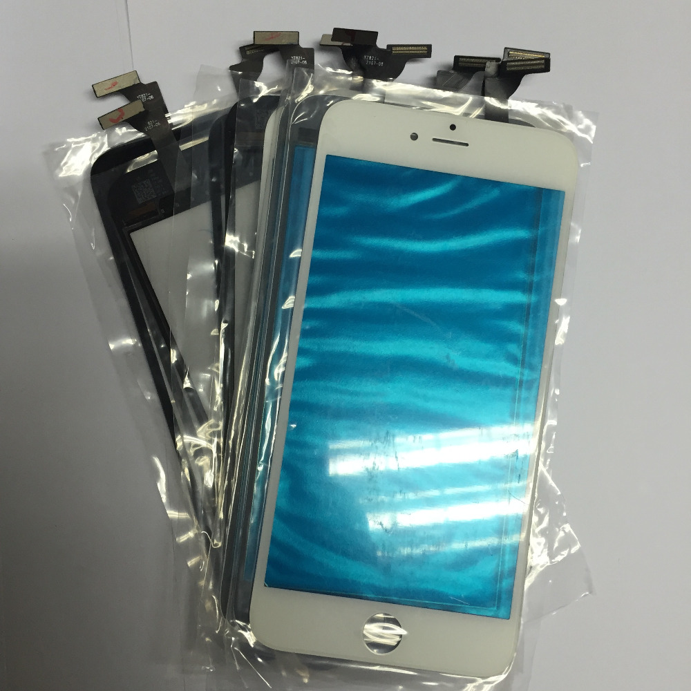 ФОТО 5pcs/lot  GRADE A  Sensor Outer Glass Panel Touch Screen Digitizer For Iphone 6 4.7