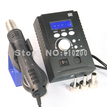 220 V 700 W Portable ESD Station de soudage BGA Station de reprise LED numérique Intelligent Hot Air Gun pour Yihua 8858 Saike 8858 858