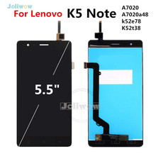 5.5 inch Display For Lenovo K5 Note LCD Display Touch Screen K52t38 A7020a48 A7020 LCD Display Digitizer Assembly Replacement стоимость