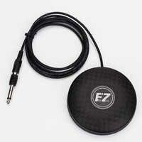 360 runde EZ Marke Tattoo Maschine Fuß Pedal Schalter mit RCA Netzteil Fuß Pedal Controller für Tätowierung und Tattoo künstler