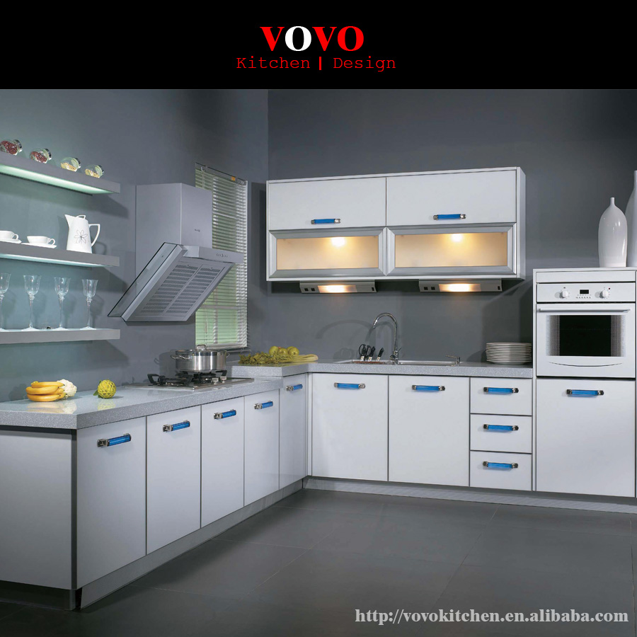 Best quality kitchen cabinets - High Quality Lacquer Kitchen Cabinet With Handle