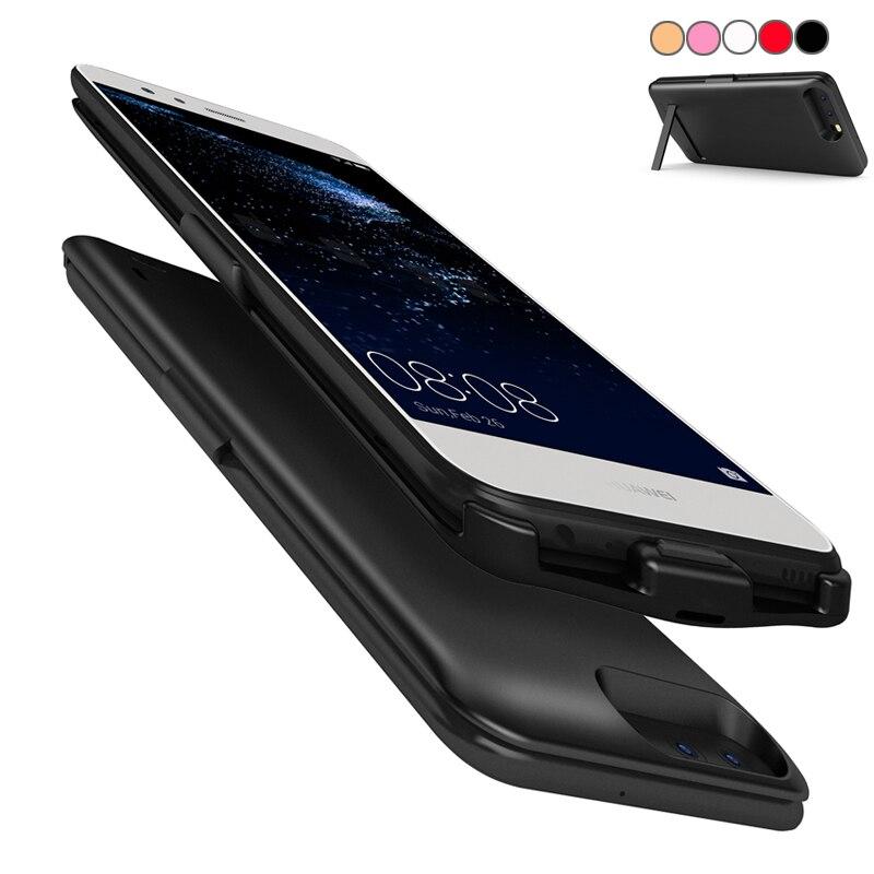 6800 mAh Pour Xiaomi Mi6 Batterie Cas Pour Xiaomi Mi6 Smart chargeur Couverture Pour Xiaomi Mi6 Puissance Capa Fundas Avec Le Support de Stand