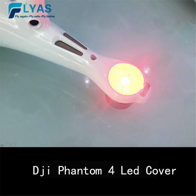 4pcs DJI Phantom 4 Pro LED Shade Lamp Cover Light Cover Protector Component Spare Part 14 For Phantom 4 Professinal Advanced