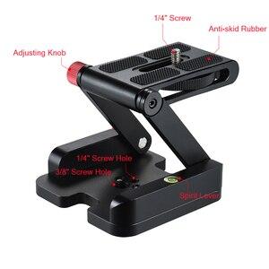Image 2 - Andoer New Z hình Nhanh Chóng Phát Hành Tấm Có Thể Gập Lại Máy Ảnh Desktop Chủ Đầu Nghiêng cho Canon Nikon Sony DSLR Pentax Video Slider