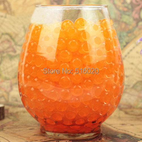 500g Orange General Wholesalers Crystal Soil Mud Water Bio Gel Beads