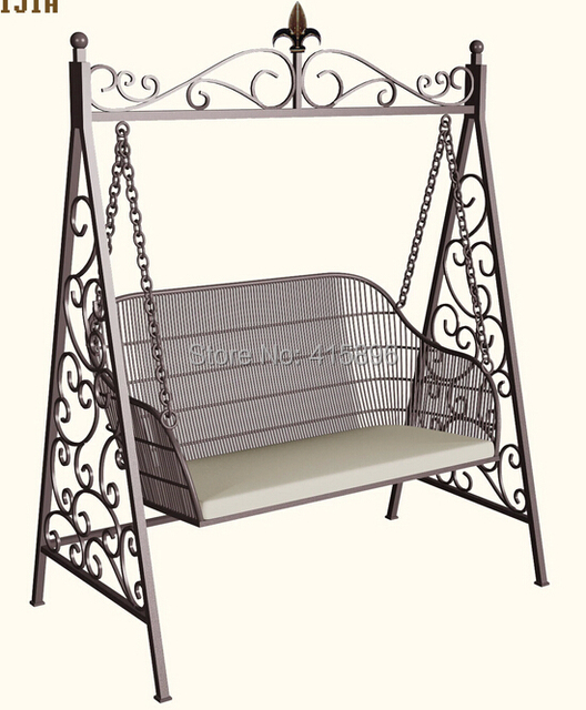 Chair Design Iron Covers Vintage China Swing In Patio Swings From Furniture On