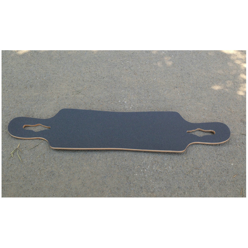 Image 4 - Free Shipping 115*27cm Longboard Sandpaper Griptape 125*27cm Black Professional Skateboard Silicon Carbide Skate Board GripTapes-in Skate Board from Sports & Entertainment