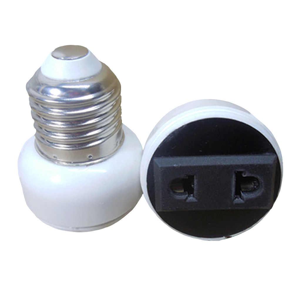 E27 держатель лампы Высокое качество разъем аксессуары США/ЕС переходник белый винт осветительное приспособление ABS лампа база лампа Разъем
