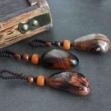 Wrapped agate keychain handmade jewelry jade Ruyi men and women couple creative gift car key pendant men s car creative quality pendant keychain