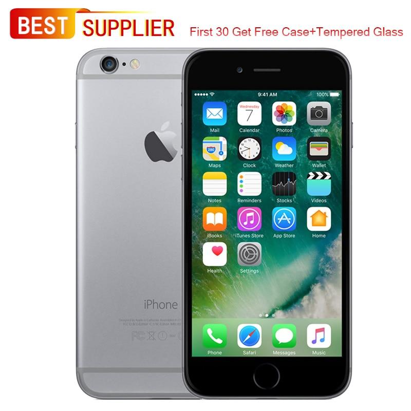 Original Unlocked APPLE iPhone 6 Smartphone - 16GB/64GB/128GB, 4.7 inch, 4G LTE, Fingerprint, Looks Like New, 1 Year Warranty(China)