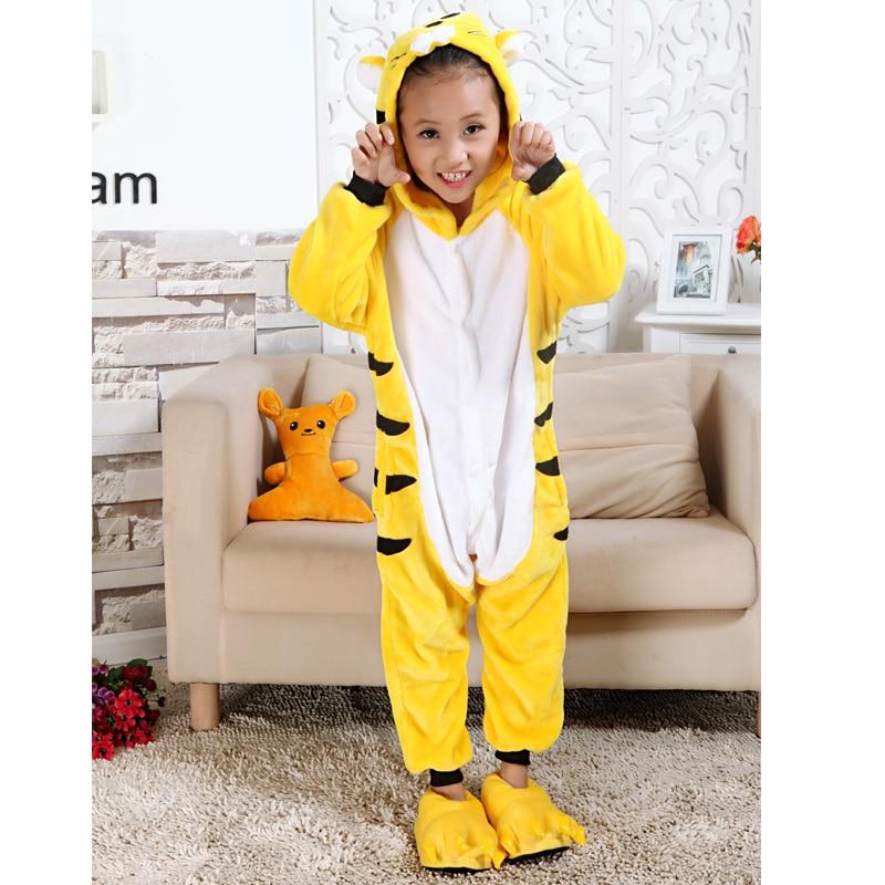 Happy Christmas Carnival Costume Children Pokemon Pikachu Totoro Pijamas Kigurumi Spring Animal Kids Pajamas Sleepwear Jumpsuit