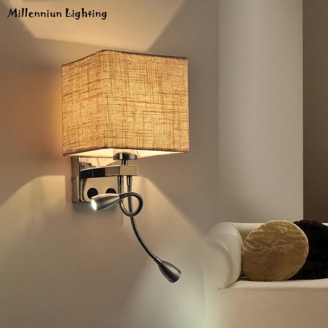 Finest Best Lmpara De Pared Moderna Led Luz De La Pared Interior Para  Dormitorio Sala Plata Manguera Flexible With Lamparas Para Pared Dormitorio  With ...