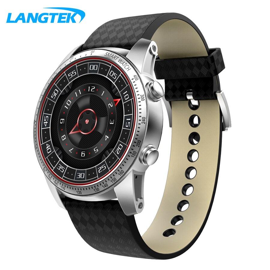 LANGTEK KW99 Smart Watch 1.39 Inch MTK6580 Quad Core 1.3GHZ Android 5.1 3G Smart Watch 400mAh 2.0 Mega Pixel Heart Rate Monitor