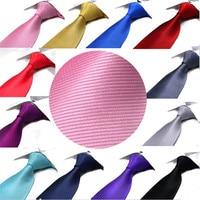 10 יחידות cm Mens סקיני מוצק פסים אלכסוניים חמה מסיבת Slim עניבה צר עניבה פורמלית YJC0008