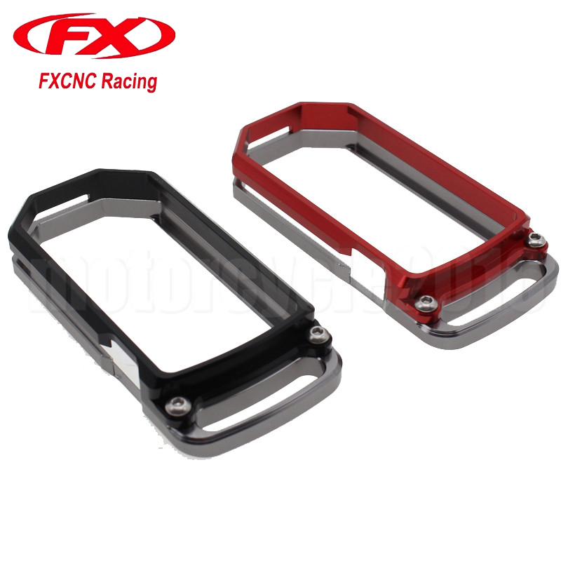 FXCNC Aluminum Motorcycles Key Remote Cover Case Chain For DUCATI DIAVEL MULTISTRADA 1200 2010-2014 2011 2012 2013 2014