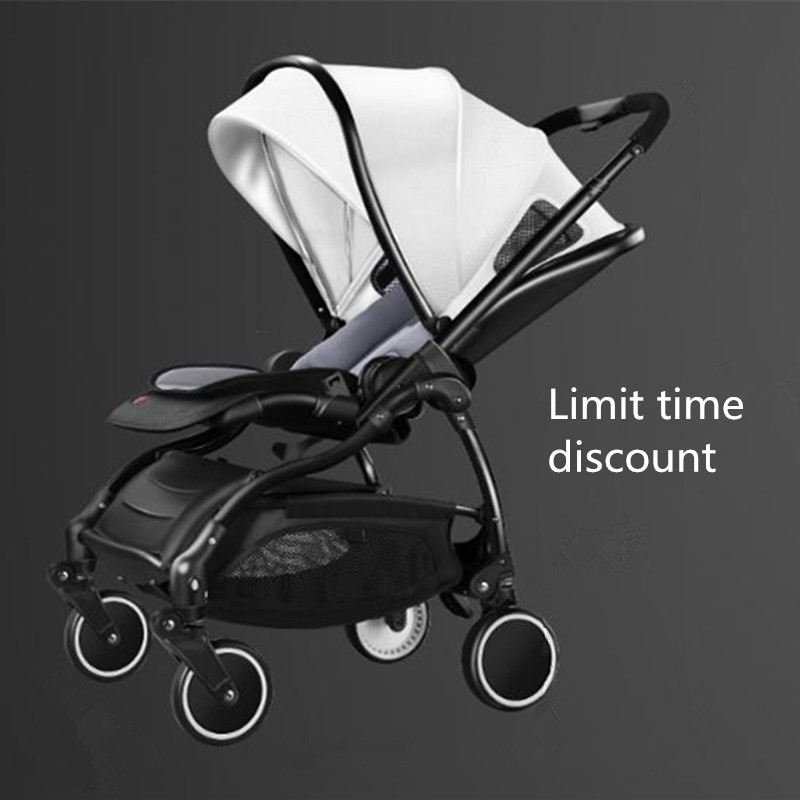 Moda bebê carrinho de criança carrinho de bebê leve pode dobrar amortecedores carrinho para 0-3 anos de idade da criança do bebê rápido entrega