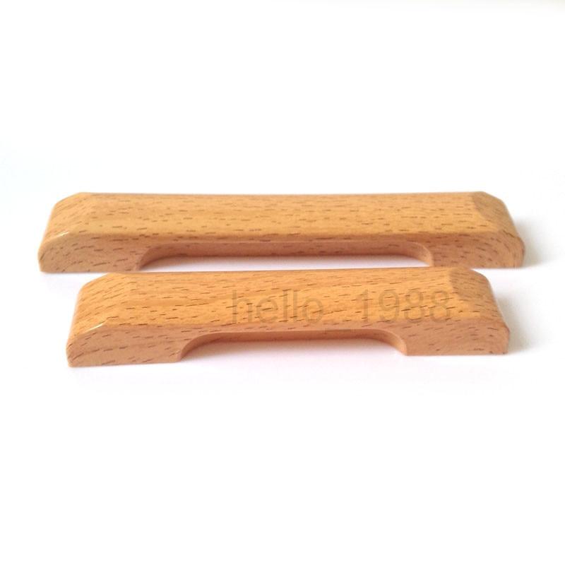 Abs Plastic Imitation Wood Grain Cabinet Handle Kitchen