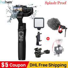 Hohem iSteady Pro 2 3-Axis Handheld Splash-Proof Gimbal Stabilizer for DJI Osmo Action GoPro Hero 7 6/5/4/3 Sony RX0 for SJCAM(China)