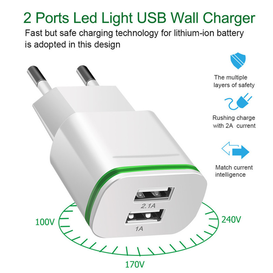 LED-Lumi-re-Micro-USB-Chargeur-UE-5-V-2A-2-Ports-Rapide-De-Charge-mur (1)