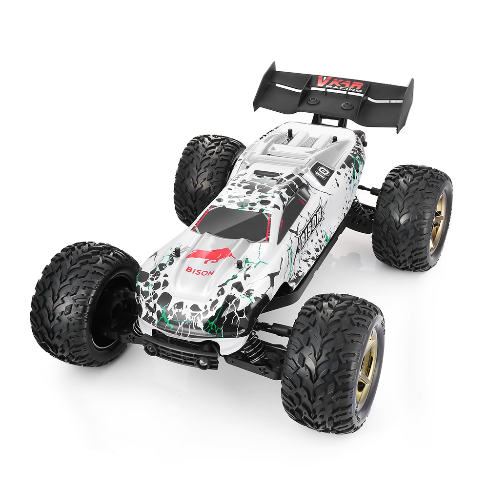 VKAR RACING BISON V2 Brushless RC Car 1:10 90km/H 2.4GHz 2CH 4WD Waterproof RC Cars RTR WITH HOBBYWING MXA10 RTR 120 Dirt Bike все цены