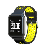 SN60 Smart band IP68 Waterpoof Blood Pressure Oxygen Monitor Fitness Bracelet Heart rate Smart Watch for Android ios Wristwatch