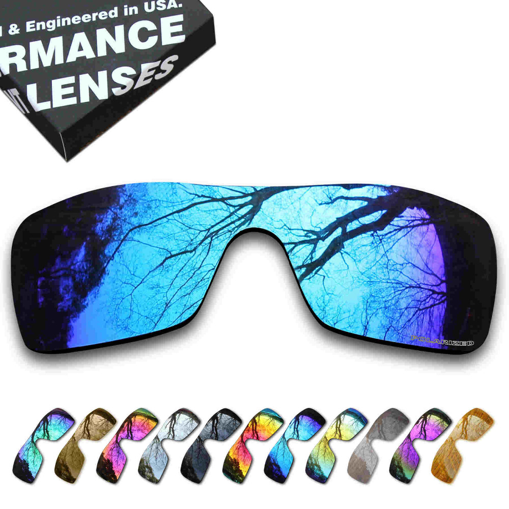 fe6f6d8725 ToughAsNails Resist Seawater Corrosion Polarized Replacement Lenses for  Oakley Batwolf Sunglasses - Multiple Options