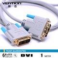 Для ПК HDTV DVD Проекторы Конвенция VAD-A01 DVI Кабель 1 м/1.5 м/2 м/3 м/5 м 24 К позолоченный стандартный (18 + 1) DVI Мужчины к Мужчине