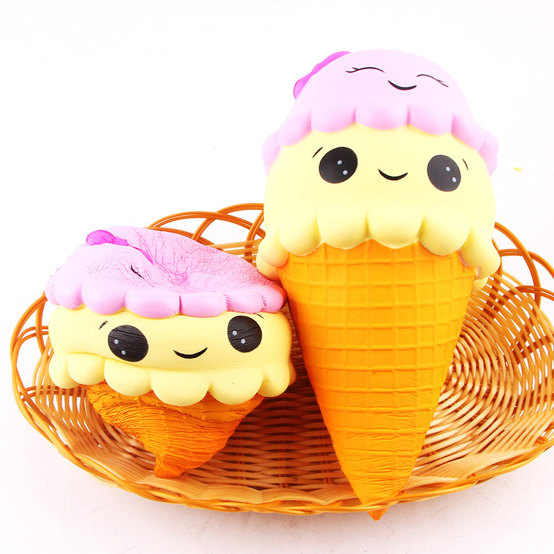 Mylitdear Squishy Toy Cute Ice Cream Squishy Slow Rising Funny Anti Stress Novelty Antistress Toys Squeeze Toys for Kids Adults