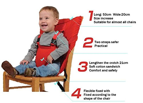 be651aab52f Sack Seat N Portable Travel High Chair Booster Baby Seat Harness Washable  Cloth Packable Sack-in Baby Seats   Sofa from Mother   Kids on  Aliexpress.com ...