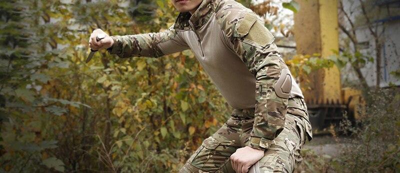 Roupas de camuflagem p caça
