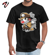 Tops & Tees Spelunky NEW YEAR DAY Discount Normal Military Sleeve Got Fabric Round Neck Men T Shirt