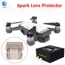 Best Price !Lens Cover Cap for DJI SPARK Gimbal/ Camera/ Front 3D Sensor System Screen Protector Dustproof Drone Accessories