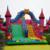 Produtos de verão slides comercial inflável gigante inflável Slide