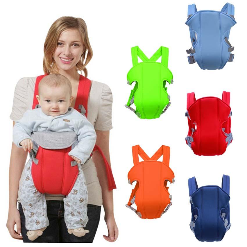 Newborn Ergonomic Baby Carrier Breathable Adjustable Wrap Baby Ring Sling Infant Backpack Carrying Stroller Kangaroo