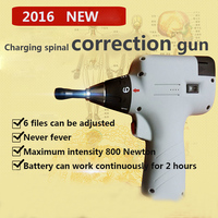 Professional spine correction gun Charge 800 N 6 stalls adjustable Therapy Chiropractic Adjusting Instrument Activator Massager