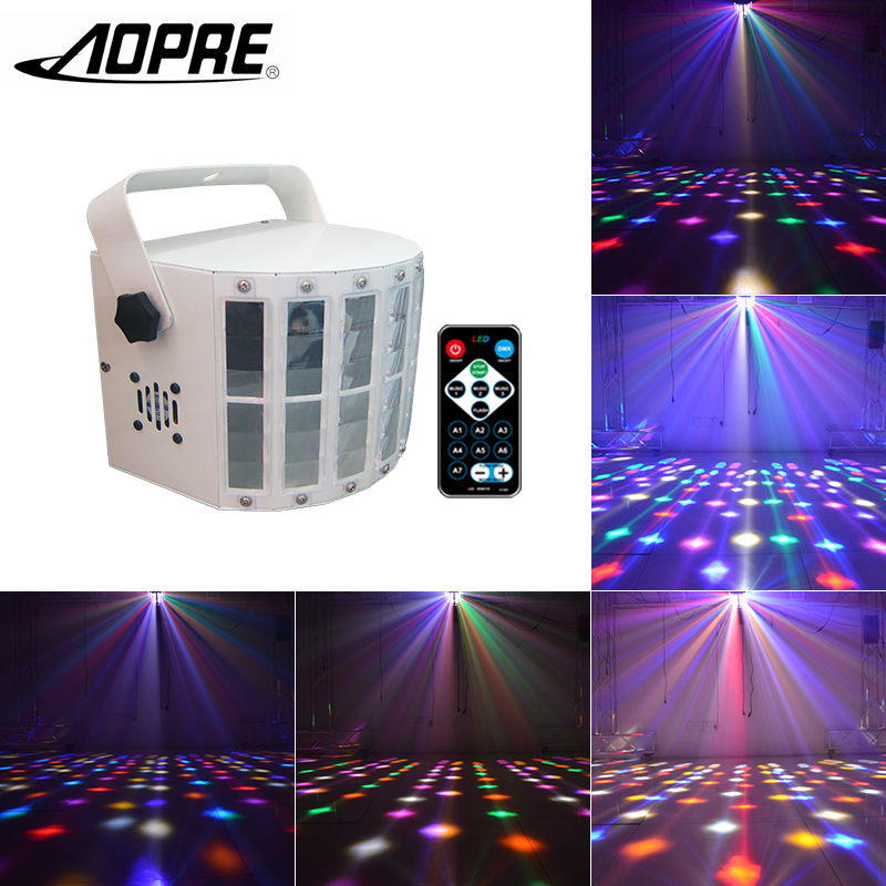AOPRE Stage Lighting Effect LED Magic Ball Strobe RGBW LED Promise Sword 13W/23W With Remo Dj Disco for Party Light W-T99 alluminum alloy magic folding table bronze color magic tricks illusions stage mentalism necessity for magician accessories
