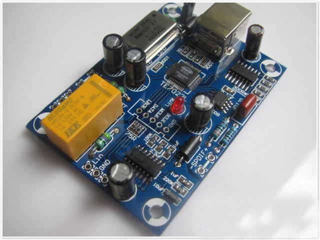 TE7022L + ES9023 DAC USB Com SPDIF Coaxial E Saída I2S