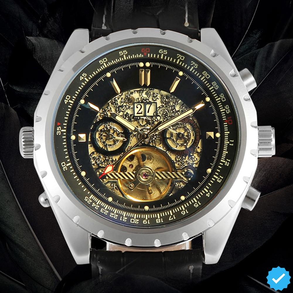 Famous Brand Jargar Automatic Watches Men Business Style Men Watch famous brand jargar automatic watches men casual style men watch free shipping jag8013m3s1