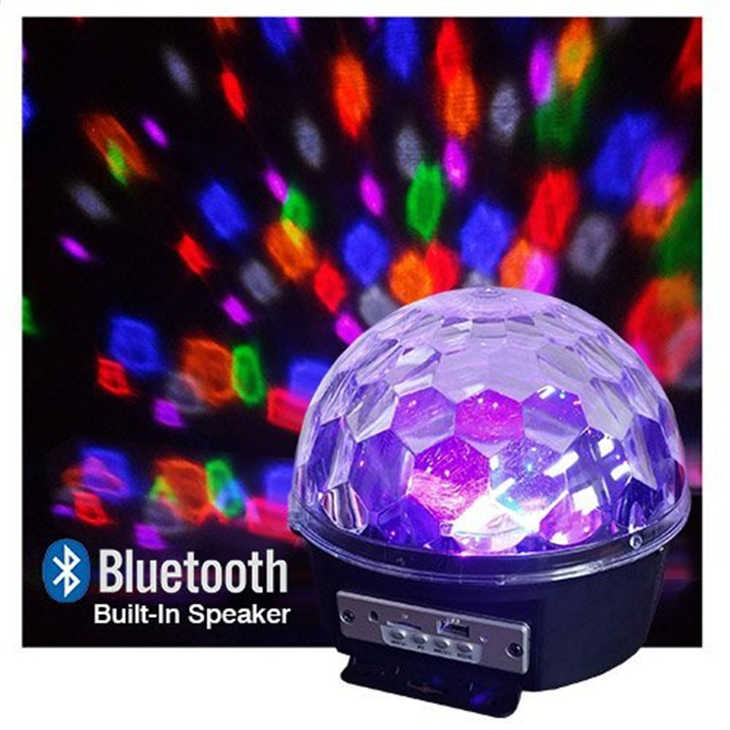 speakers light up. led disco light stage bluetooth usb internal speakers play music and watch your room up christmas new year gift-in lighting effect from