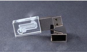 Image 2 - 2ydream (10pcs free logo) flash crystal USB 2.0 flash drive 4GB 8GB 16GB 32GB 64GB USB FLASH DRIVE